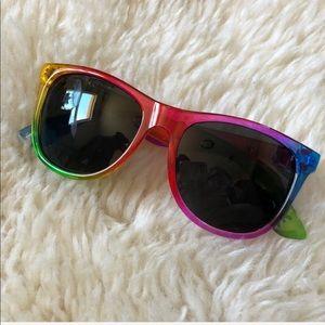 NEW Victoria's Secret PINK Rainbow Sunglasses
